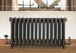 Chubby 4 column cast iron radiator