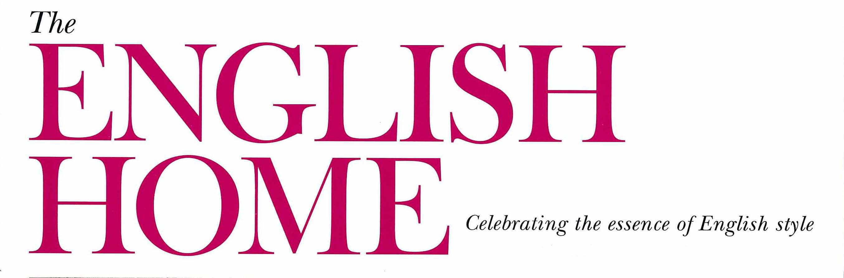 The_English_Home