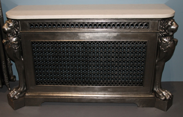 Lion Radiator Cover 1