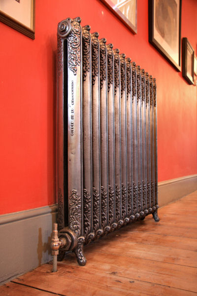 ornate narow beeston polished red hallway